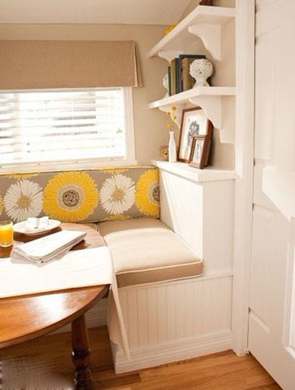 小户型餐桌布置 餐厅可以这样省空间
