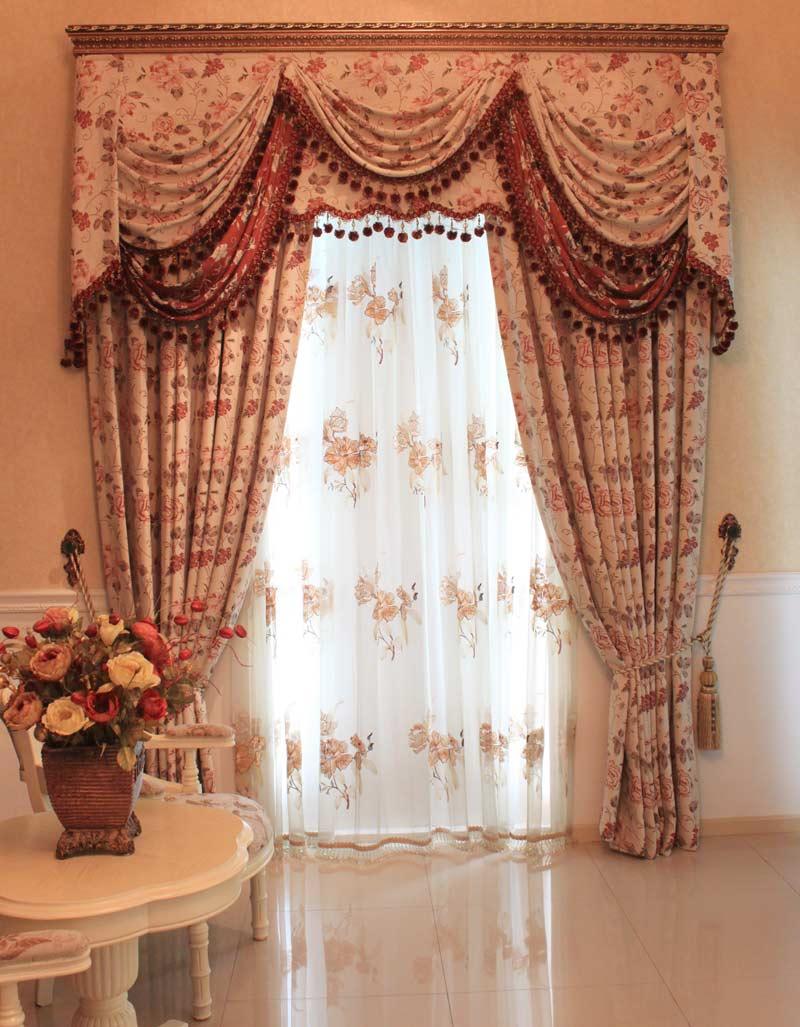 窗帘布艺图片,客厅窗帘布艺,欧式窗帘布艺_点力图库