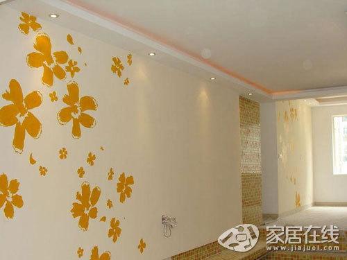 11款手绘电视背景墙 简单打造特色客厅