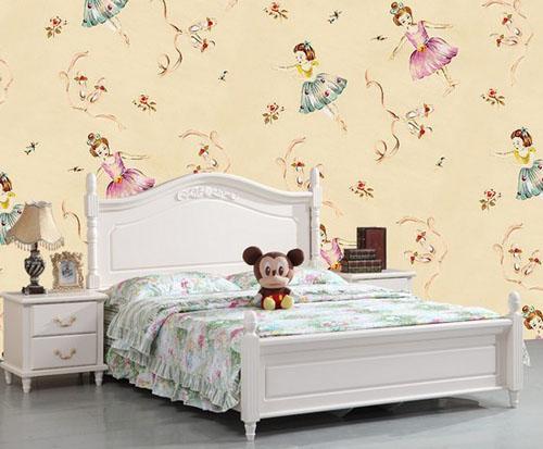 这款韩式儿童床看起来非常田园,而且整体设计让小朋友们喜爱,床头的