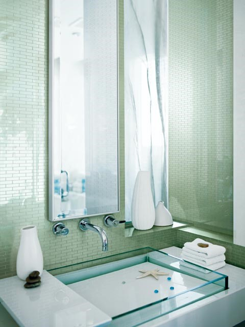 10个极美的卫浴装饰参考 装修家庭必看