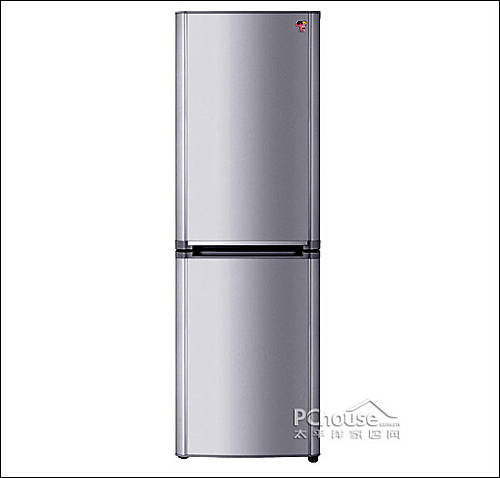 海尔冰箱bcd-186kb正视图