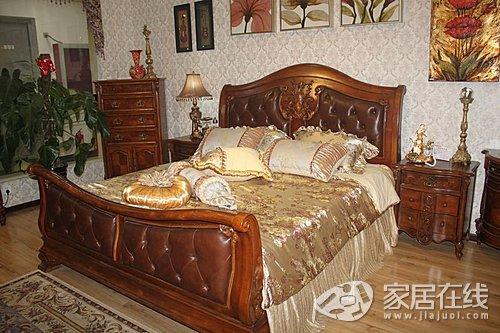 美墅美家实木家具 典雅高贵的欧式风格