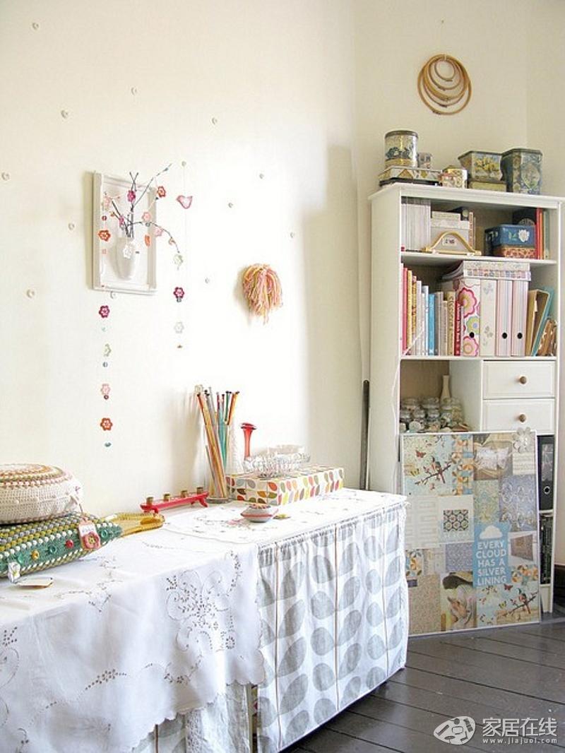 创意 编织 苏格兰/用钩针编织的美丽生活森女的家居生活