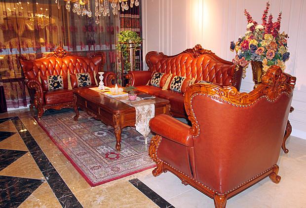 客厅 博伦/一、鸿亚博伦T002沙发(3+2+1)