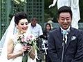 朱军与妻子法国办婚礼 现场唱意大利民歌