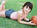 F罩杯女神绫濑遥篮球写真活力四射秀巨波