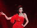 林志玲如红色妖姬
