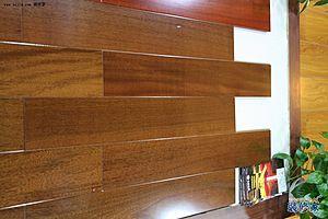 永吉丽榄木(咖啡色)实木地板_永吉丽榄木(老人展销会产品咖啡图片