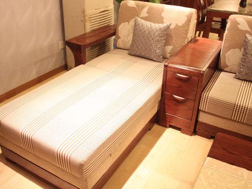 东方·弘叶实木客厅家具 经典中式韵味图片