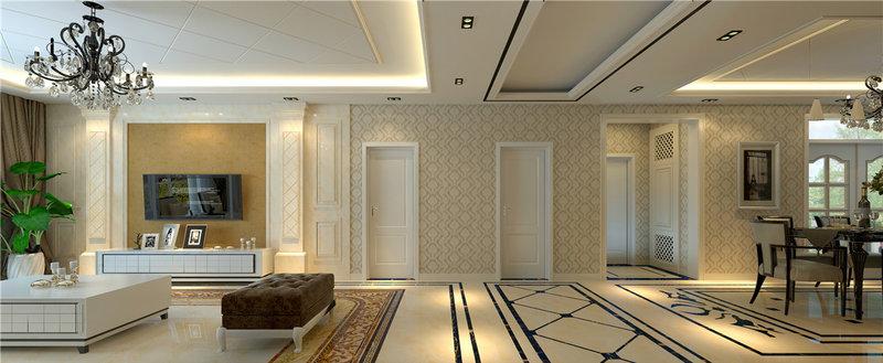 现代简欧风格传递出舒适的设计理念_装修案例_家居在线图片
