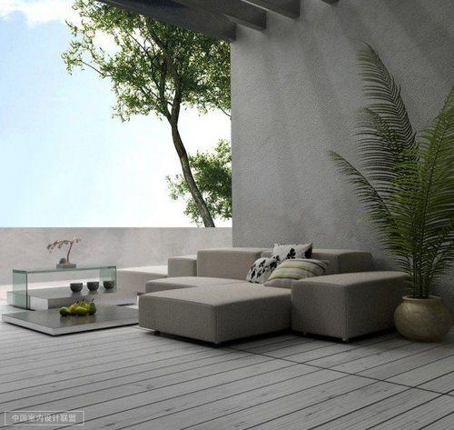魅力灰调家居欣赏 高级极简风室内设计