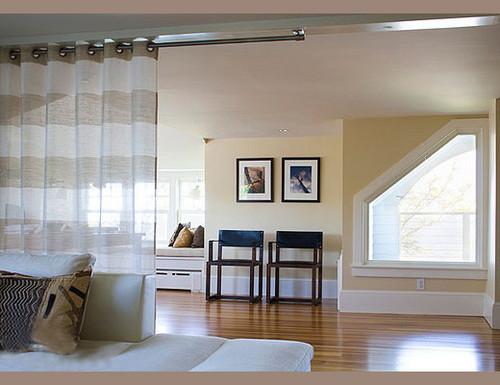 12个卧室软隔断设计 能屈能伸的墙壁效果