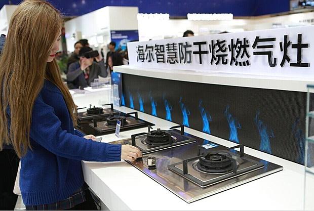 海尔发布防干烧燃气灶新品  升级灶具标准