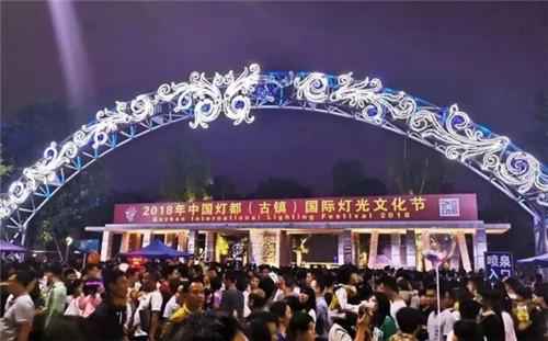 2019古镇灯光节—灯光,再次释放了这座古镇的非凡魅力