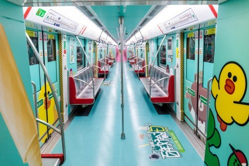 松下专列让杭州地铁又红了!这次不仅走心,还很可爱