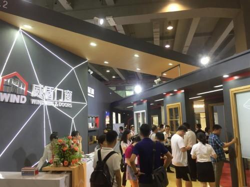 2019广州建博会盛大开幕,威盾门窗惊艳亮相!