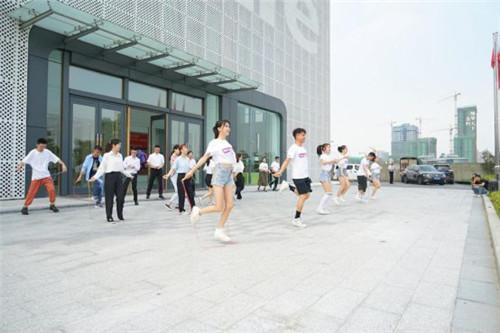 大自然家居向上更出色公益跳绳,掀起全民跳绳热潮!