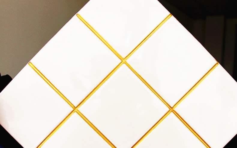 白瓷砖美缝用什么颜色