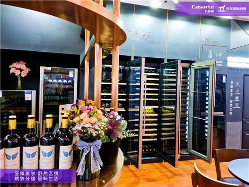 卡萨帝冰箱冰吧酒柜,实力引领墅式人生,品味精致生活