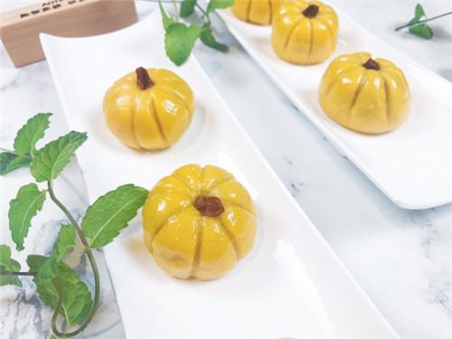奧田集成灶 椰香南瓜紫薯糯米糍美食烹飪教程