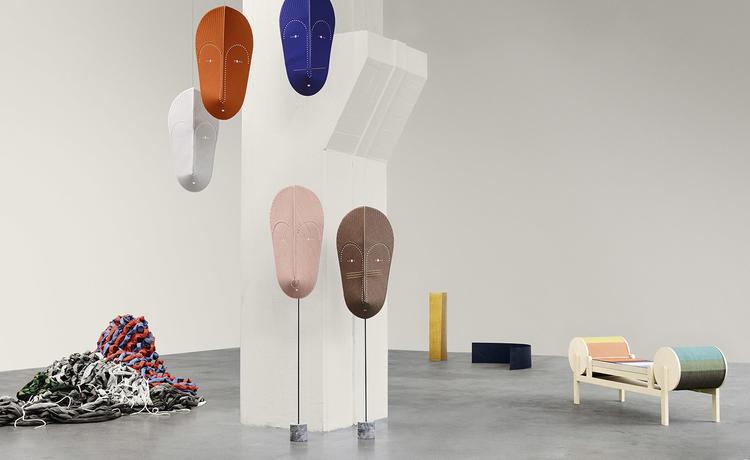 以一款布料为主题的展览 看玩转色彩艺术