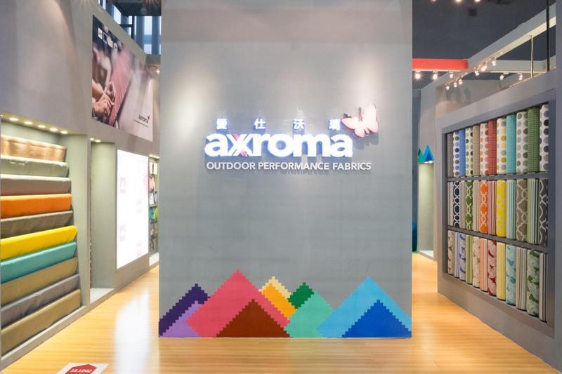 axroma 2019CIFF OLEFIN布料引户外行业关注