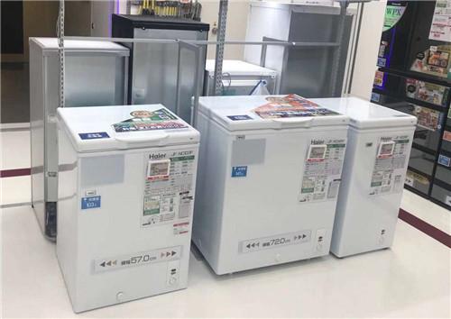 日本市场冷柜销售排名:海尔单品类卧式柜占49% 居第一