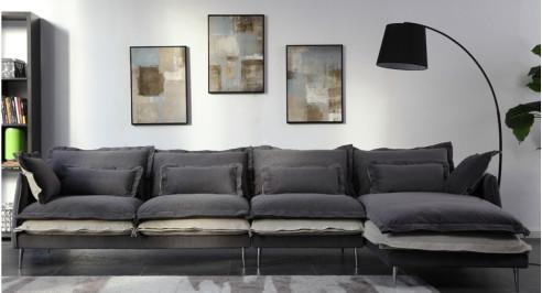 惊艳满满的客厅 源自小布象住宅家具的颜值打造