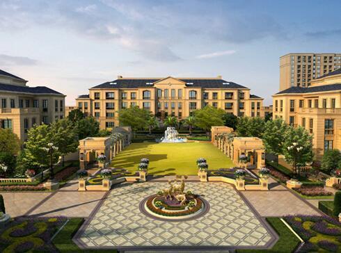 东方鸿璟法式官邸别墅 是对生活的重新解构