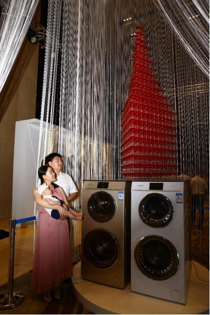 卡萨帝洗衣机瞄准母婴市场推出2款新品
