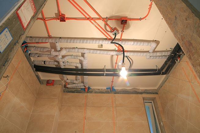 西宁别墅装修必须注意的水电工程布线