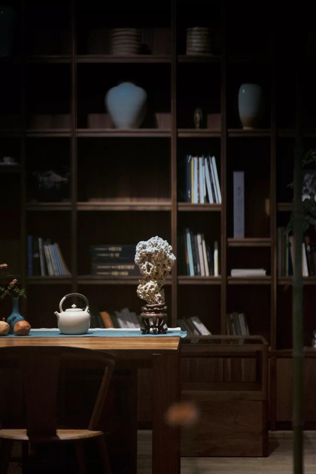 书房兼茶室设计