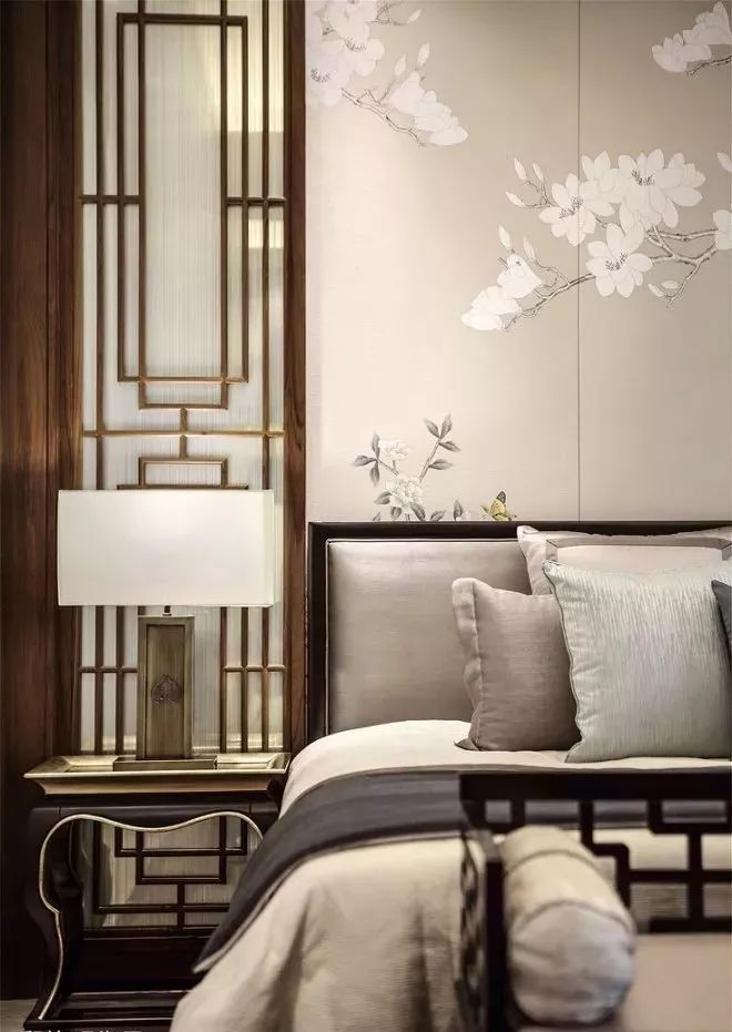 新中式卧室色彩选择