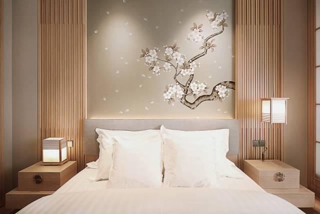 新中式卧室格调