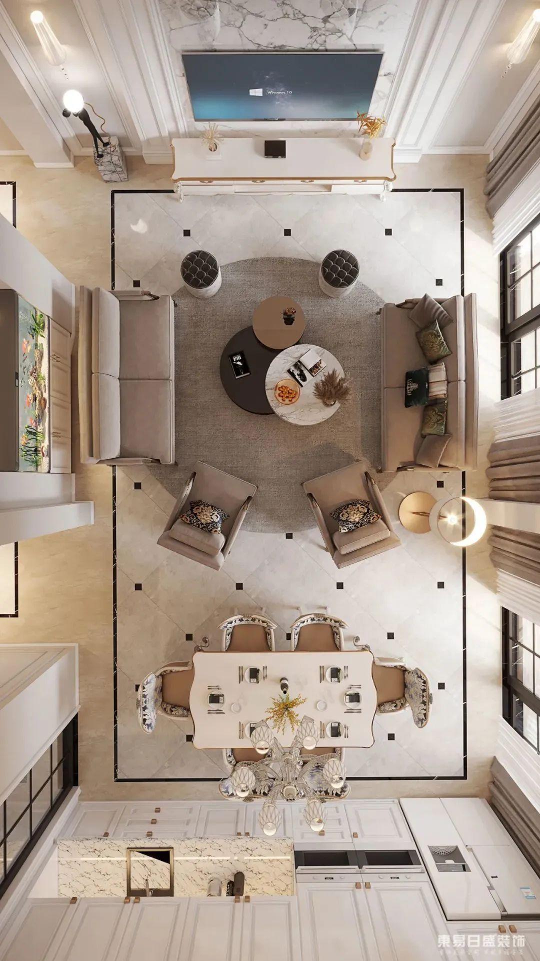 欧式现代简约日式老房改造