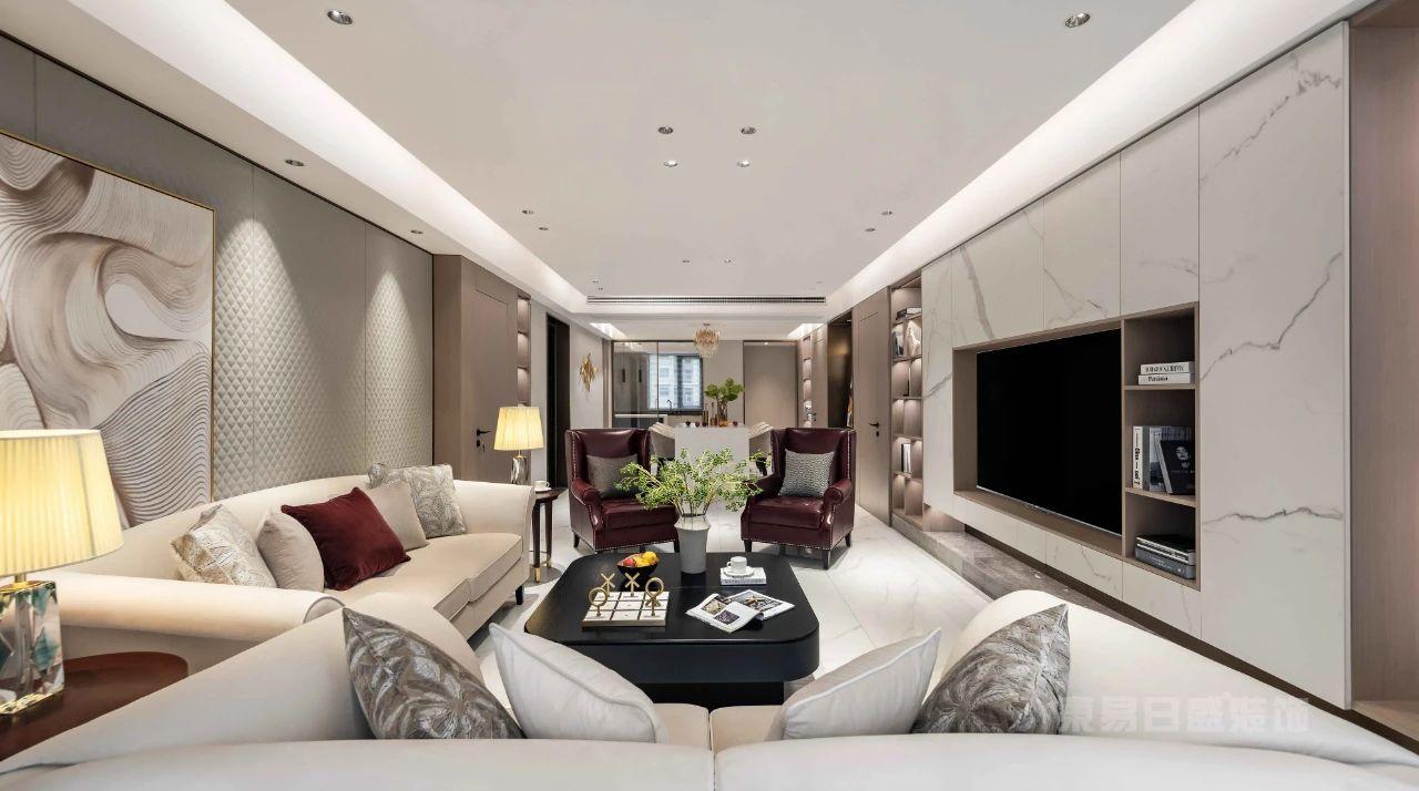 现代轻奢风格客厅沙发