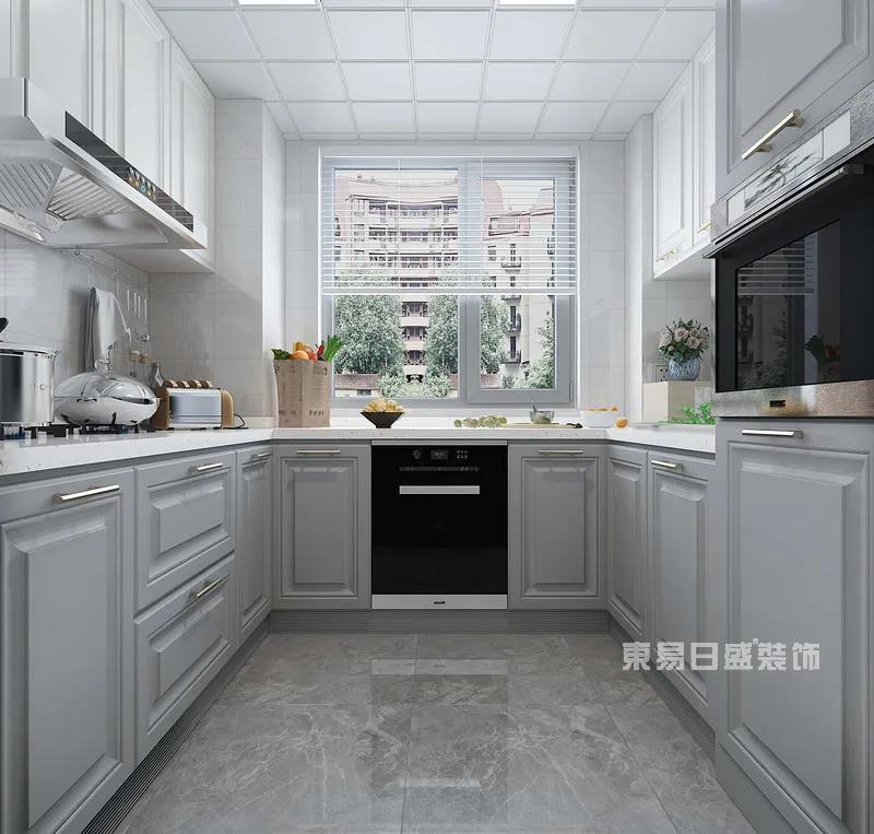 现代轻奢风格厨房
