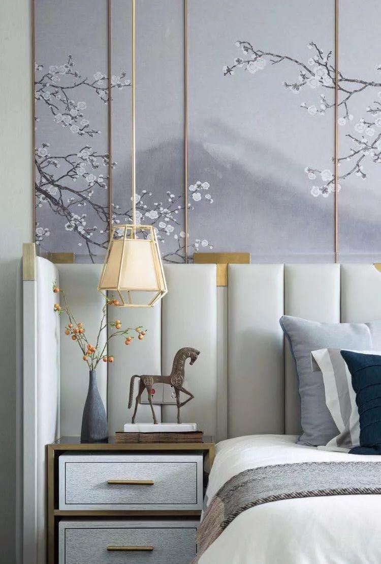新中式设计卧室