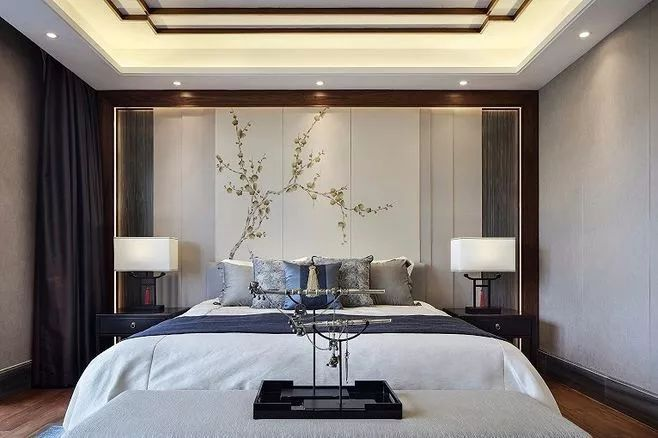 新中式风格卧室展示