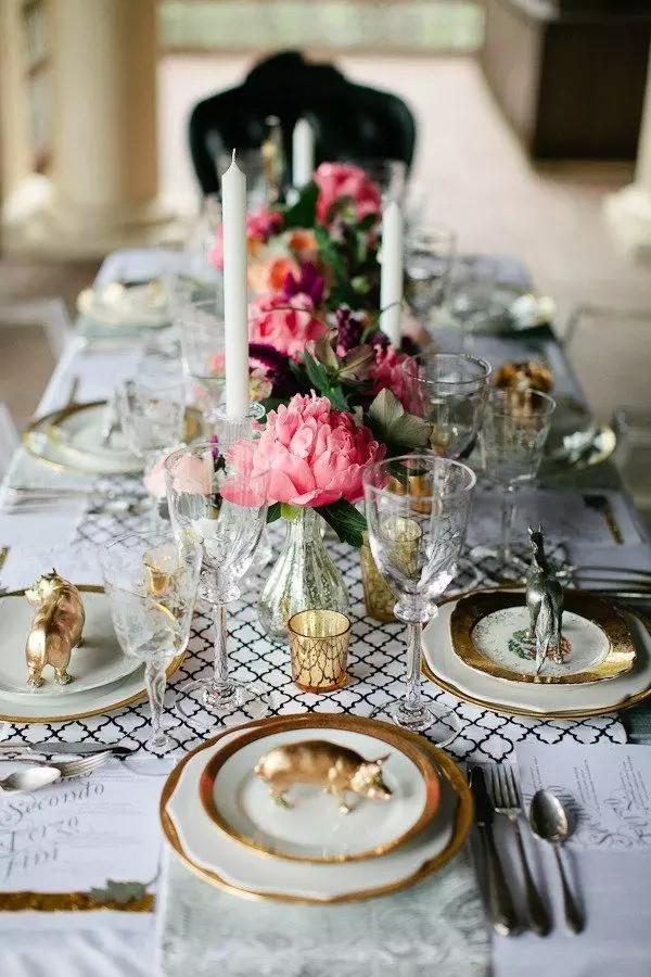 餐厅花艺装饰