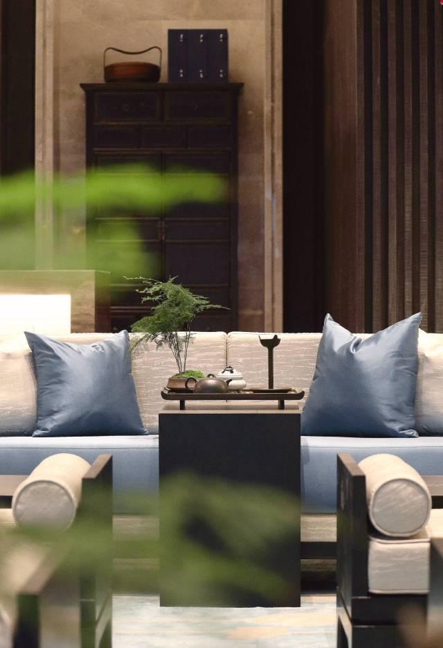 客厅兼茶室设计