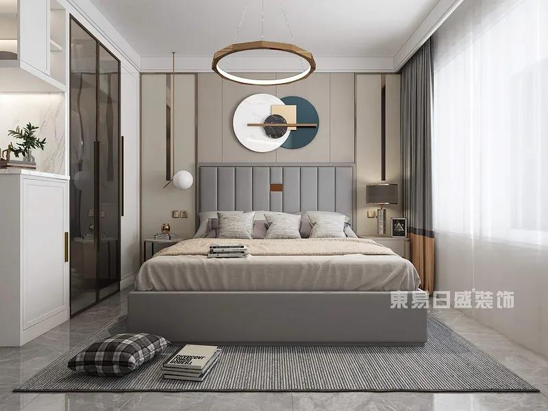 现代轻奢风格主卧室