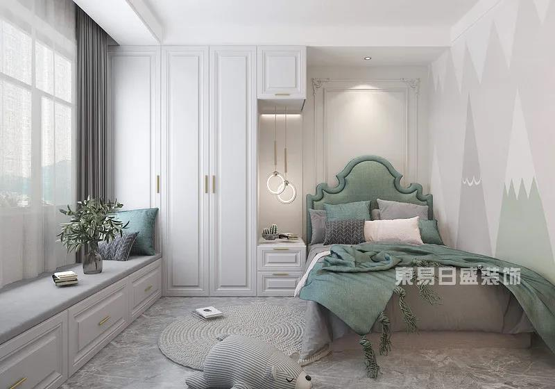 现代轻奢风格次卧室
