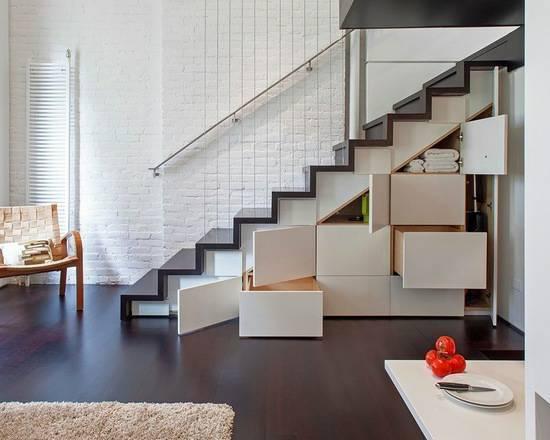 楼梯收纳功能