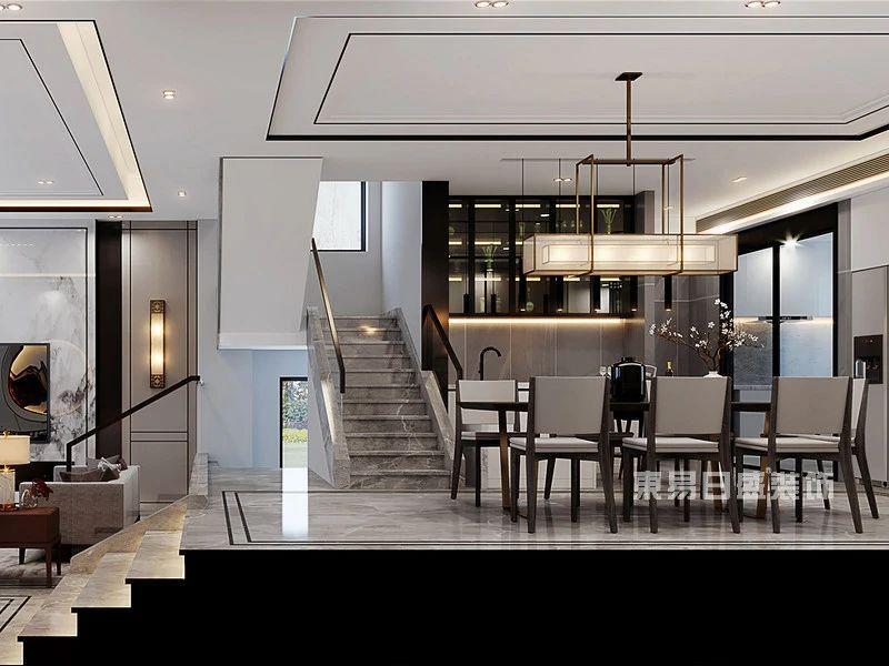 桂林别墅餐厅装修