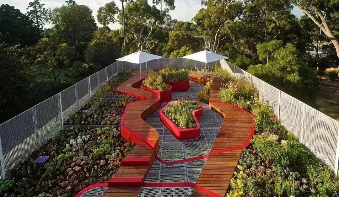 屋顶绿化排水防水设计