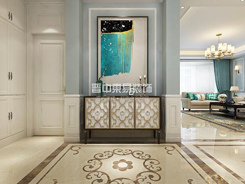 山西晋中榆次晋园小区现代美式设计方案