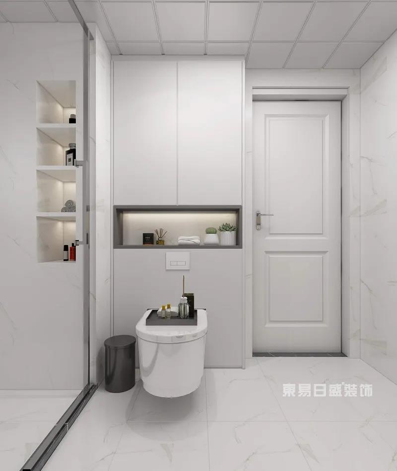现代轻奢风格沐浴房