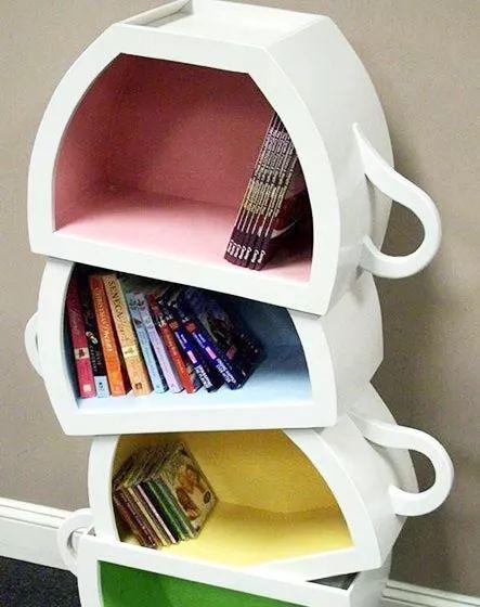 创意书架柜子